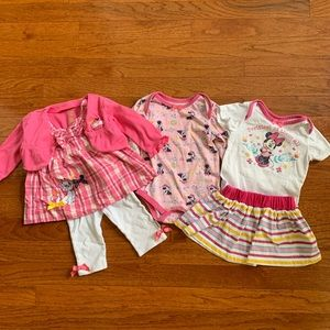 Baby girl Disney bundle 6-9 months